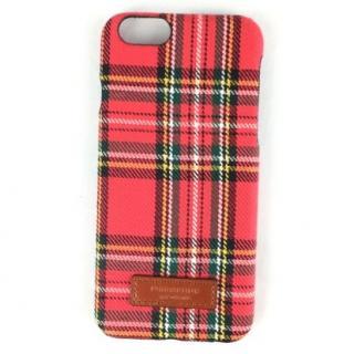 iPhone6s ケース コットンケース 15FW Bartype チェックレッド iPhone 6s/6