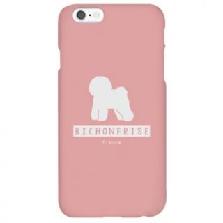 ハイブリッドデザインケース TOUGT CASE シルエット ドッグ ビション・フリーゼ iPhone 6s/6