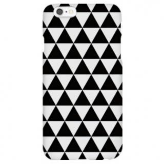 ハイブリッドデザインケース TOUGT CASE シンプル トライアングル iPhone 6s/6