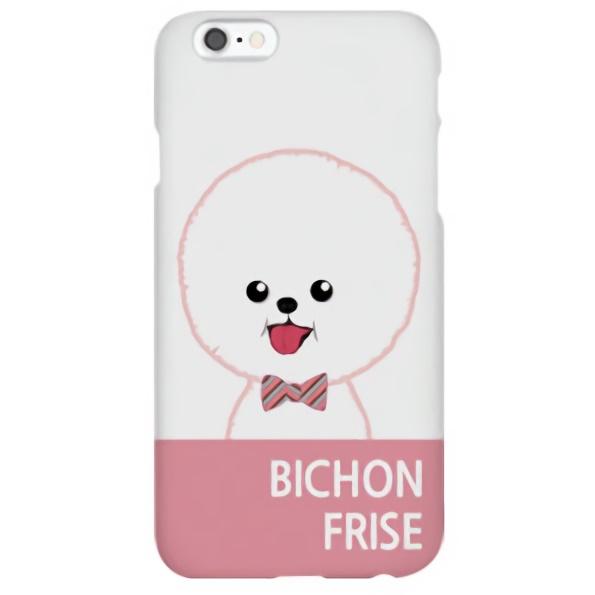 iPhone6s ケース ハイブリッドデザインケース TOUGT CASE ファッションドッグ ビション・フリーゼ iPhone 6s/6_0