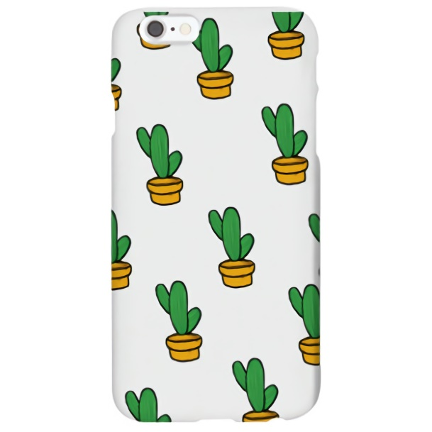 iPhone6s ケース ハイブリッドデザインケース TOUGT CASE サボテン iPhone 6s/6_0