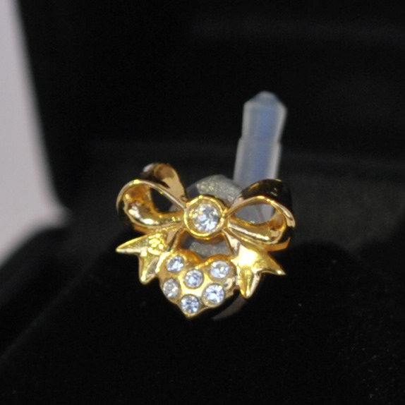 JACK PIERCE 5 RIBBON gold × crystal_0