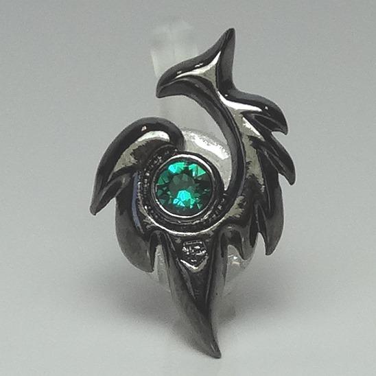 JACK PIERCE 5 TRIBAL Gunmetaric × Emerald