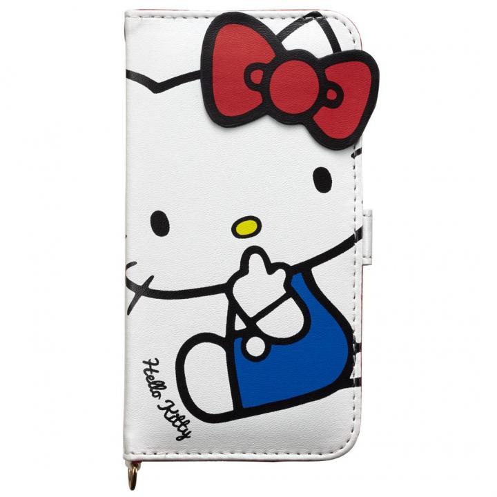 【iPhone6sケース】iDress ハローキティ 手帳型ケース ホワイト iPhone 6s/6_0