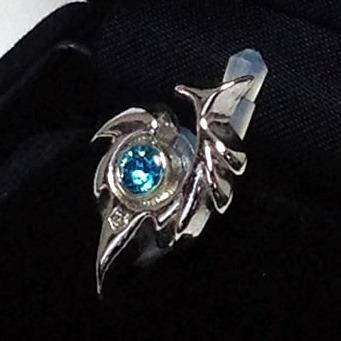 JACK PIERCE 5 TRIBAL Silver × Sapphire_0