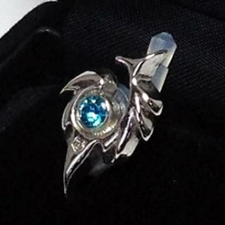 JACK PIERCE 5 TRIBAL Silver × Sapphire