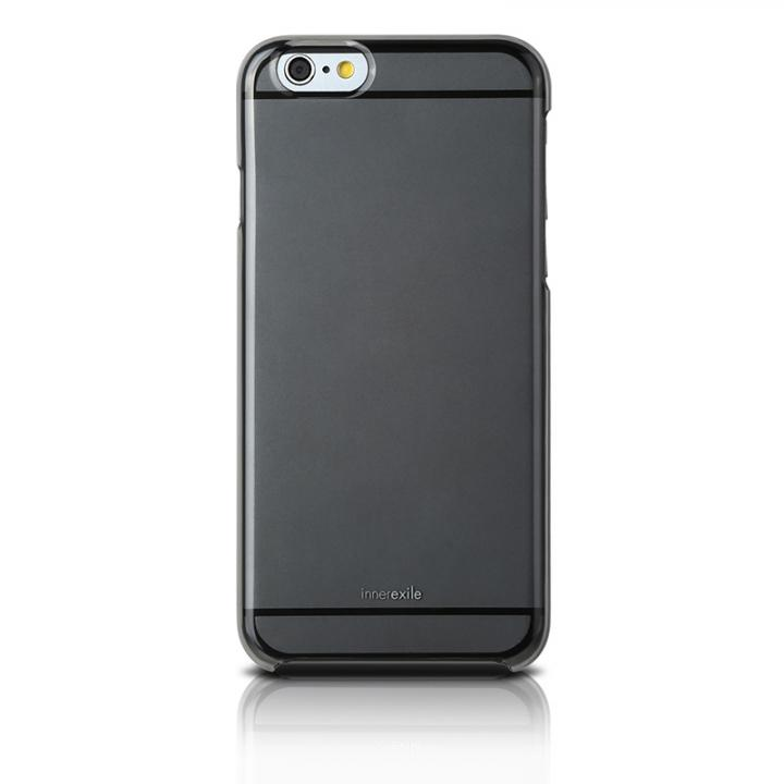 ポリカーボネート製クリアケース InnerExile Hydra ブラック iPhone 6ケース