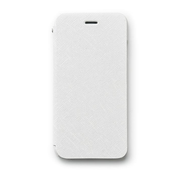 【iPhone6s/6ケース】傷からの保護性が高い本革 手帳型ケース Minimal Diary ホワイト iPhone 6s/6ケース_0