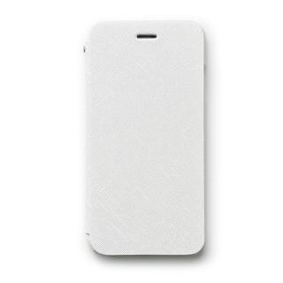 傷からの保護性が高い本革 手帳型ケース Minimal Diary ホワイト iPhone 6s/6ケース