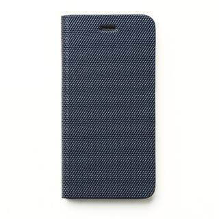 イタリアン合皮 手帳型ケース Metallic Diary ネイビー iPhone 6s/6