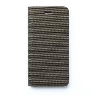 【9月中旬】高級イタリアンPU使用手帳型ケース Metallic Diary シルバー iPhone 6ケース