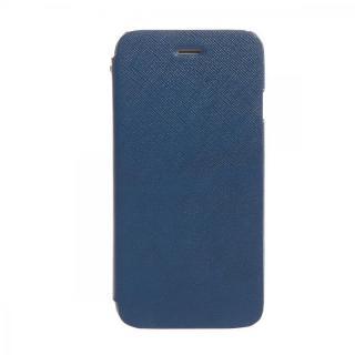 傷からの保護性が高い本革 手帳型ケース Minimal Diary ブルー iPhone 6s/6ケース