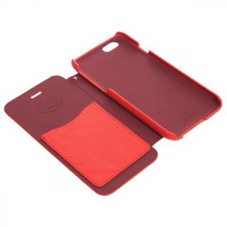 【iPhone6ケース】傷からの保護性が高い本革 手帳型ケース Minimal Diary レッド iPhone 6ケース_2