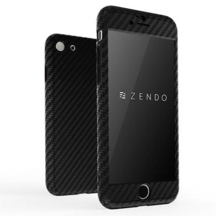 【iPhone7ケース】ZENDO NanoSkin EX ハードケース カーボンブラック iPhone 7_0