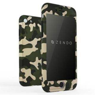 ZENDO NanoSkin EX ハードケース カモフラグリーン iPhone 7