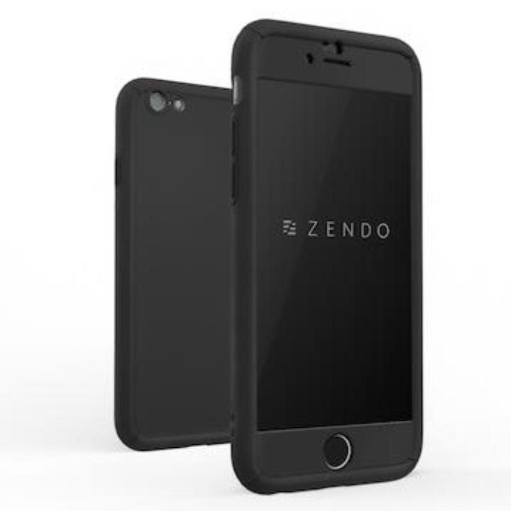 【iPhone7ケース】ZENDO NanoSkin FreeFall ハードケース ブラック iPhone 7_0