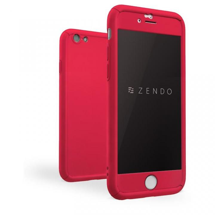iPhone7 ケース ZENDO NanoSkin FreeFall ハードケース レッド iPhone 7_0