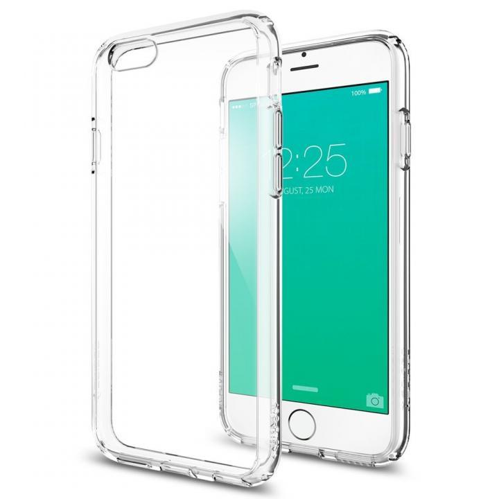 【iPhone6sケース】Spigen ウルトラ・ハイブリッドケース クリア iPhone 6s_0