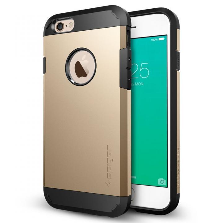 【iPhone6sケース】Spigen タフ・アーマー 耐衝撃ケース ゴールド iPhone 6s_0