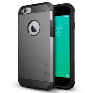 iPhone6s ケース Spigen タフ・アーマー 耐衝撃ケース ガンメタル iPhone 6s