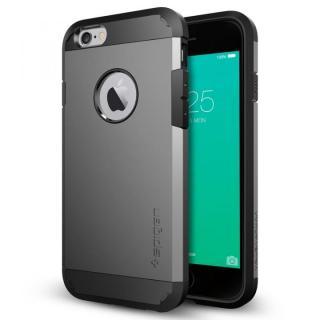 Spigen タフ・アーマー 耐衝撃ケース ガンメタル iPhone 6s