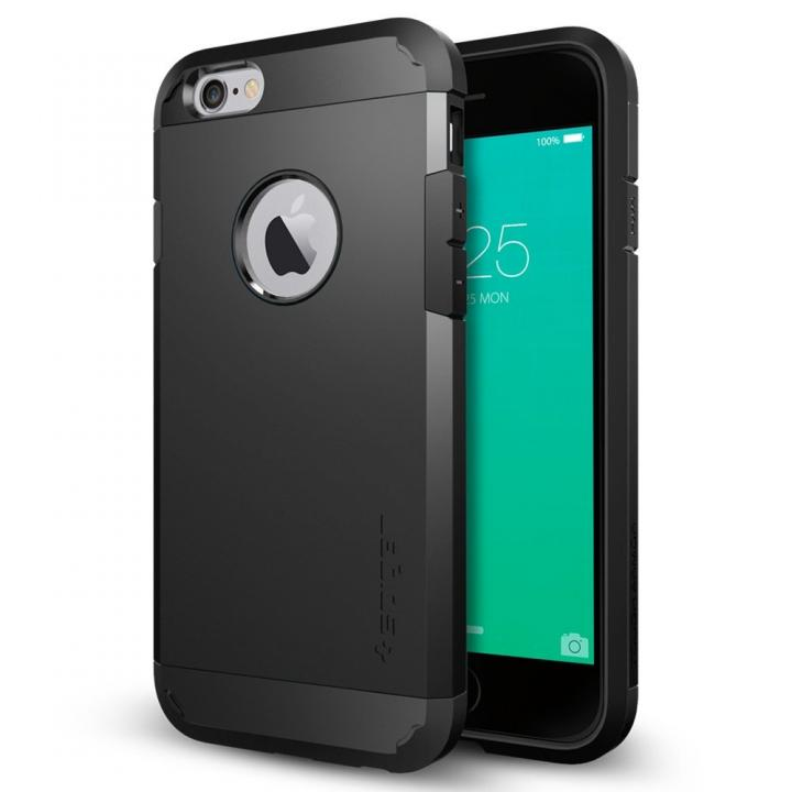 iPhone6s ケース Spigen タフ・アーマー 耐衝撃ケース ブラック iPhone 6s_0