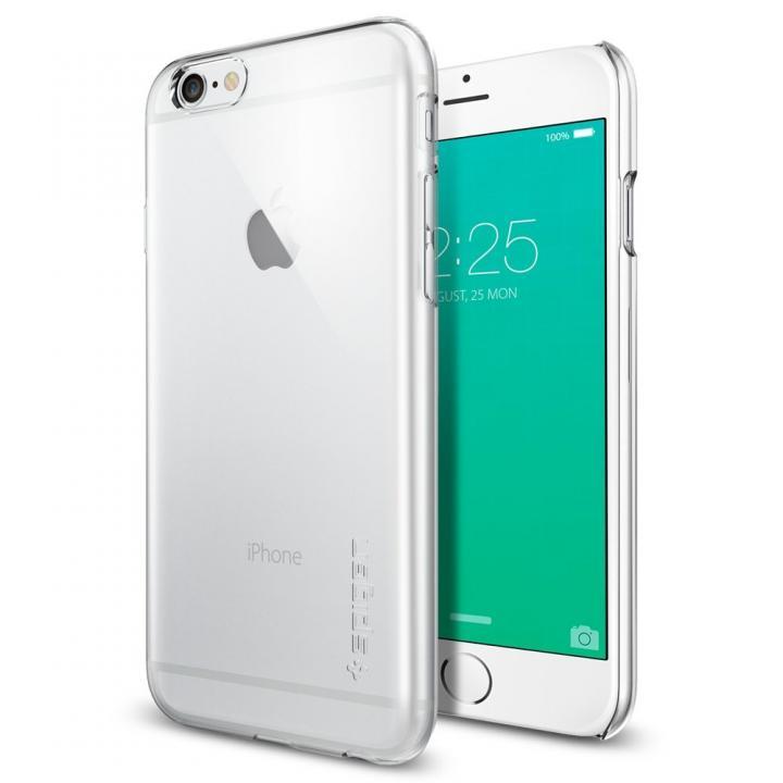 Spigen 薄型ハードケース Thin Fit クリア iPhone 6s
