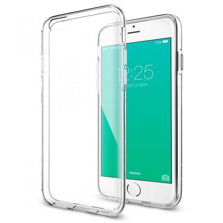Spigen 軽量薄型ソフトケース Liquid Crystal iPhone 6s