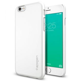 Spigen 薄型ハードケース Thin Fit ホワイト iPhone 6s