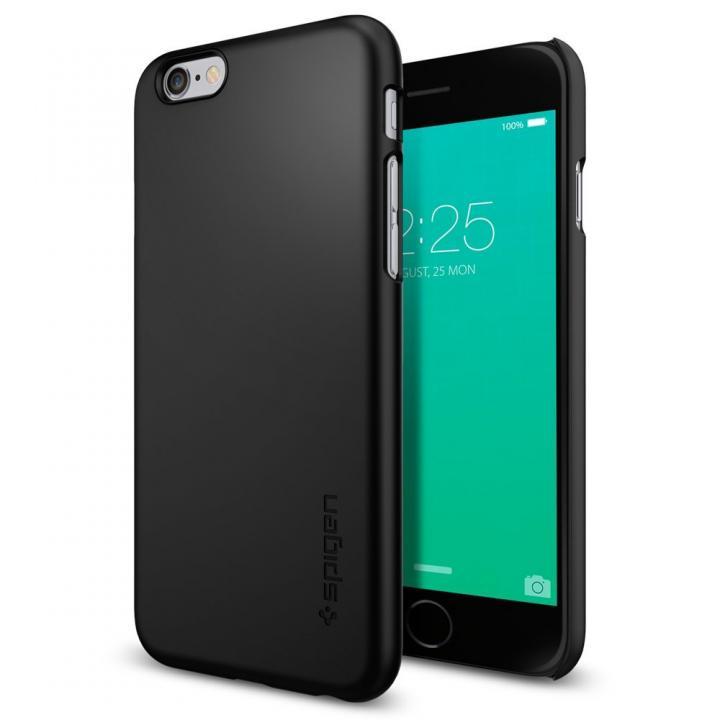iPhone6s ケース Spigen 薄型ハードケース Thin Fit ブラック iPhone 6s_0