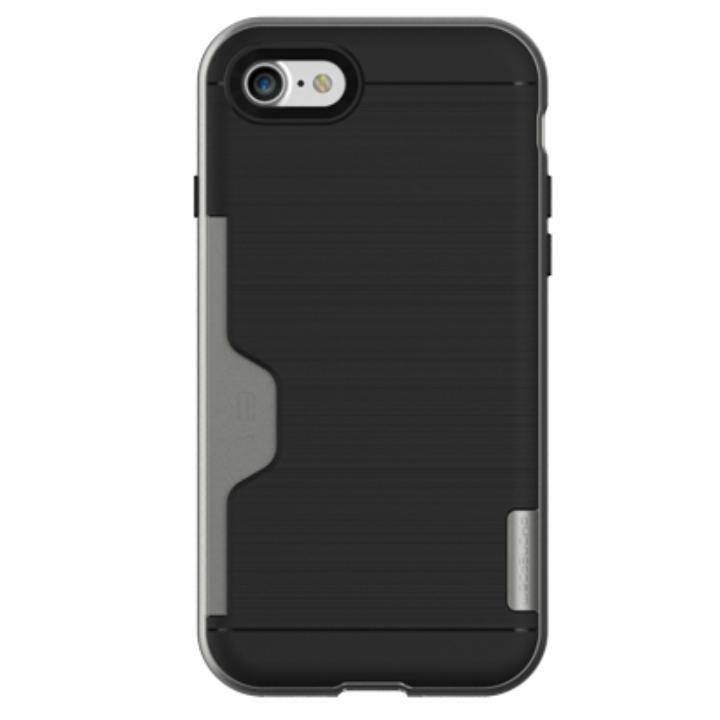 PhoneFoam LINE ICカード対応ハードケース ダークシルバー iPhone 7