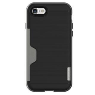 【iPhone7ケース】PhoneFoam LINE ICカード対応ハードケース ダークシルバー iPhone 7