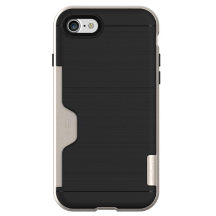 【iPhone7ケース】PhoneFoam LINE ICカード対応ハードケース シャンパンゴールド iPhone 7_0