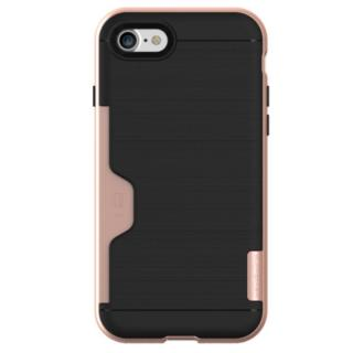 PhoneFoam LINE ICカード対応ハードケース ローズゴールド iPhone 7