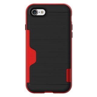 PhoneFoam LINE ICカード対応ハードケース ローズレッド iPhone 7
