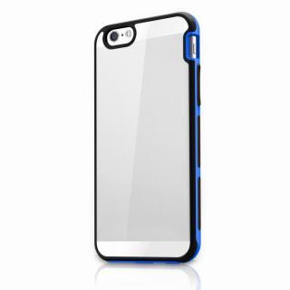 【iPhone6s Plus/6 Plusケース】ITSKINS 耐衝撃ハイブリッドケース ブラック/ブルー iPhone 6s Plus/6 Plus