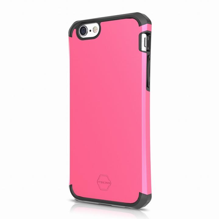 【iPhone6sケース】ITSKINS 耐衝撃ハイブリッドケース Evolution ピンク&ブラック iPhone 6s_0