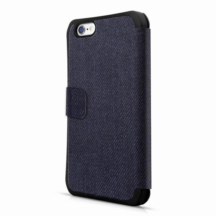 【iPhone6sケース】ITSKINS 耐衝撃手帳型ケース DNA Flip ブルー iPhone 6s_0