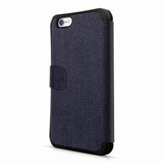 iPhone6s ケース ITSKINS 耐衝撃手帳型ケース DNA Flip ブルー iPhone 6s