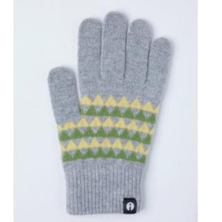 どの指でもスマホが操作できる iTouch Gloves グレー(トライアングル)Lサイズ