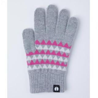 どの指でもスマホが操作できる iTouch Gloves グレー(トライアングル)Sサイズ