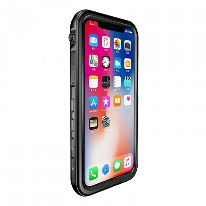 防水・防塵・耐衝撃ケース「SLIM DIVER(スリムダイバー)」 ブラック iPhone XS/X_0
