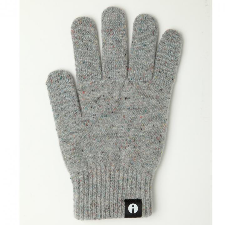 どの指でもスマホが操作できる iTouch Gloves ライトグレーSサイズ_0