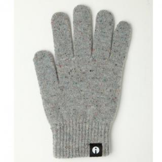 どの指でもスマホが操作できる iTouch Gloves ライトグレーSサイズ