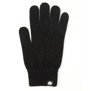 どの指でもスマホが操作できる iTouch Gloves スリップ防止黒Lサイズ