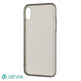 フィット感抜群 超薄型 軽量でしっかりガード ソフトケース/Naked case 2018 クリアティー iPhone XS