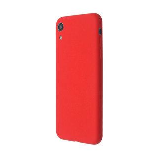 【iPhone XR】汚れに強い さらっとした肌触りのリキッドシリコンケース/EXTRA SLIM SILICONE レッド iPhone XR
