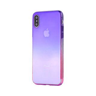 【iPhone XS Maxケース】オーロラのようにきらめく 繊細で美しいハードケース/Aurora Series Case 2018 紫/ローズレッド iPhone XS Max