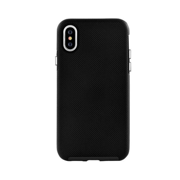 iPhone XS Max ケース 耐衝撃 丈夫でかわいい2ピース構造 ハードケース/King Kong case 2018 ブラック iPhone XS Max_0