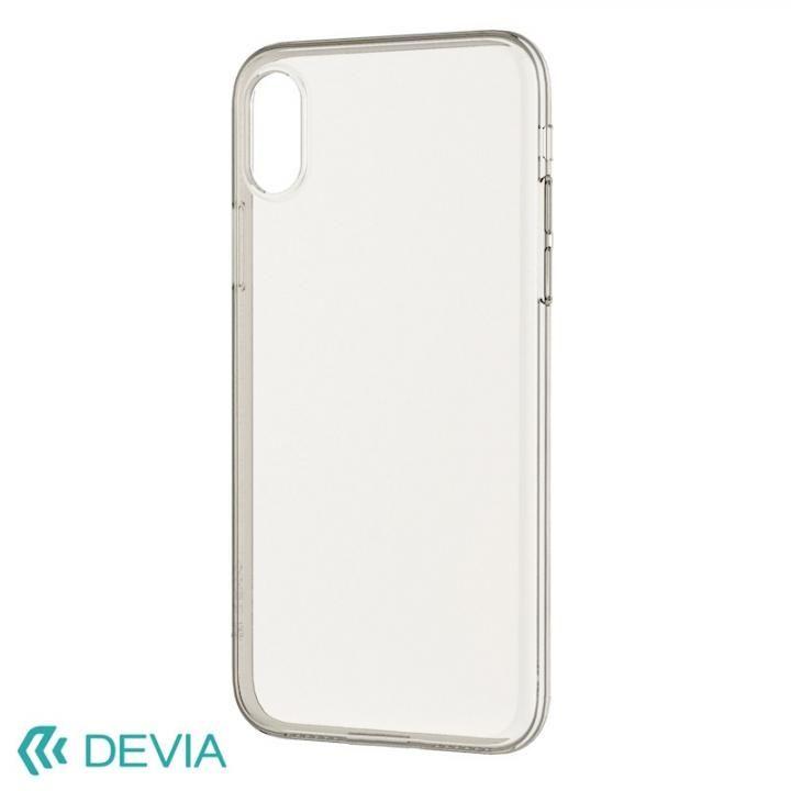 フィット感抜群 超薄型 軽量でしっかりガード ソフトケース/Naked case 2018 クリア iPhone XS